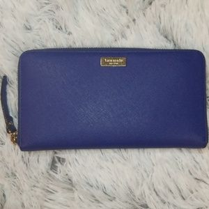 KATE SPADE Zip Around Long Wallet